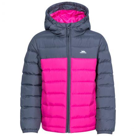 Oskar Kids' Padded Casual Jacket in Pink