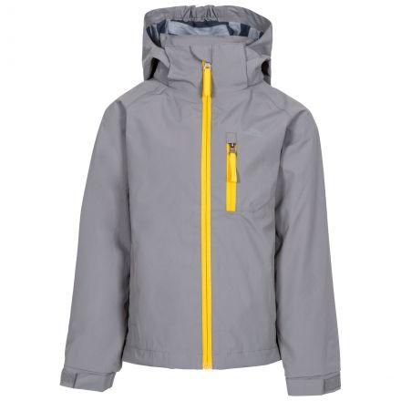 Overwhelm Kids' Waterproof Jacket in Grey