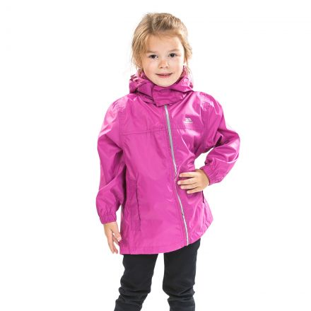 Packup Kids' Packaway Jacket in Pink