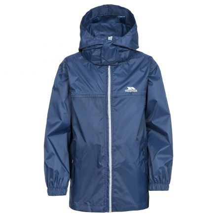 Packup Kids' Packaway Jacket in Navy