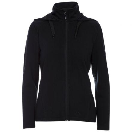 Panache Women's Fleece Hoodie in Black