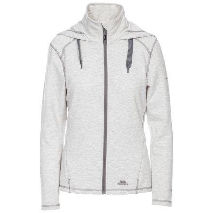 Panache Women's Fleece Hoodie in Light Grey