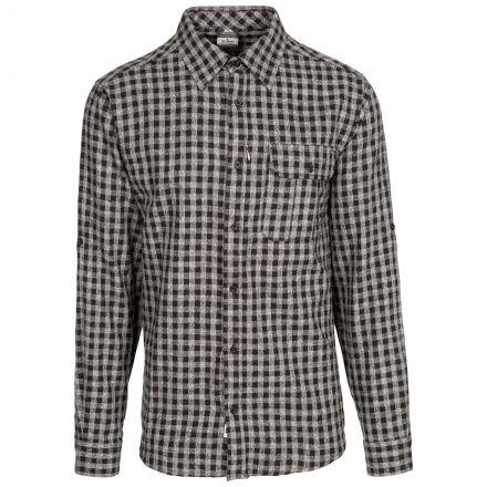 Participate Men's Checked Cotton Shirt
