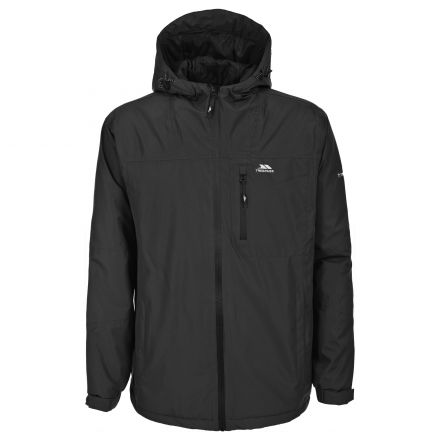 Paterson Men's Waterproof Jacket in Black