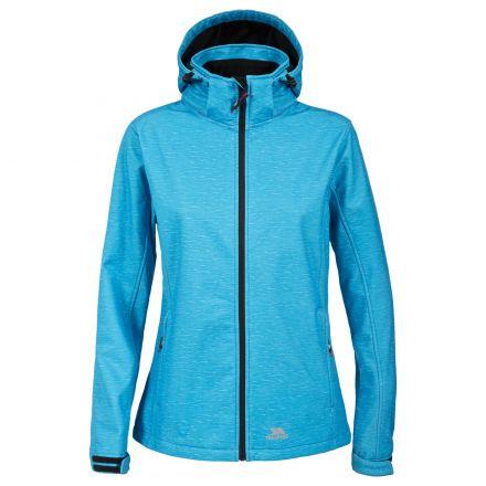 Paulina Women's Softshell Jacket in Turquoise