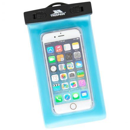 Waterproof Phone Pouch in Light Blue