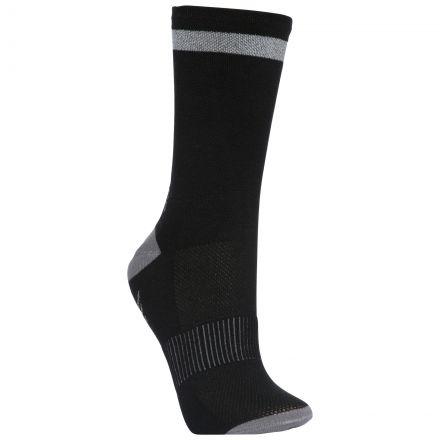 Radiate Adults' Reflective Walking Socks in Black