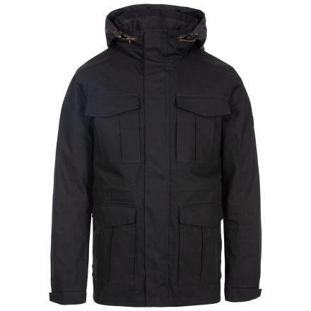 Rainthan Men's Waterproof Jacket in Black
