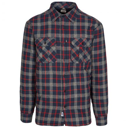 Rapeseed Men's Fleece Lined Checked Shirt