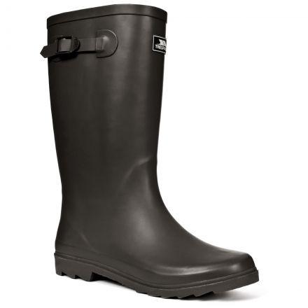 Recon Mens Waterproof Wellies in Black