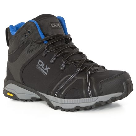 Rhythmic Men's DLX Vibram Walking Boots in Black