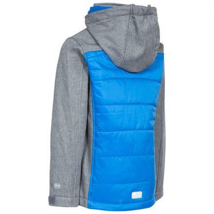 Rockboy Boys' Hooded Softshell Jacket in Grey