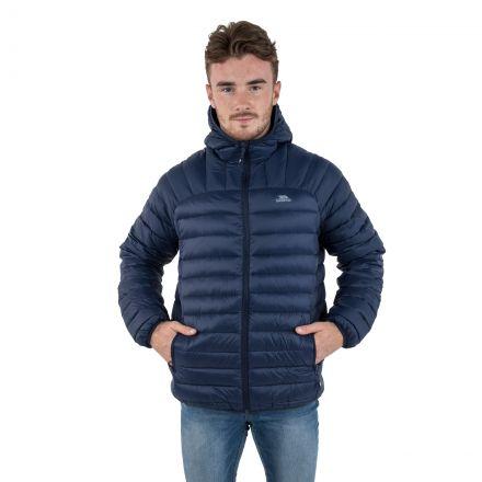 Romano Men's Down Packaway Jacket in Navy