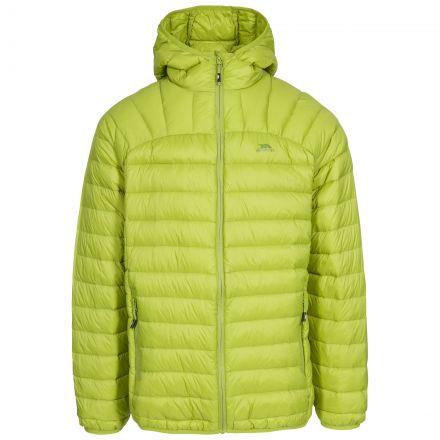 Romano Men's Down Packaway Jacket in Neon Green