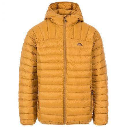 Romano Men's Down Packaway Jacket in Beige