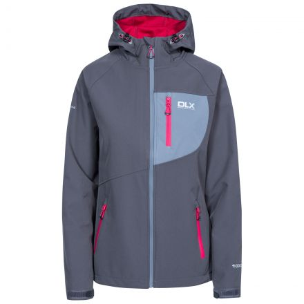 Ronda Women's DLX Breathable Softshell Jacket in Grey
