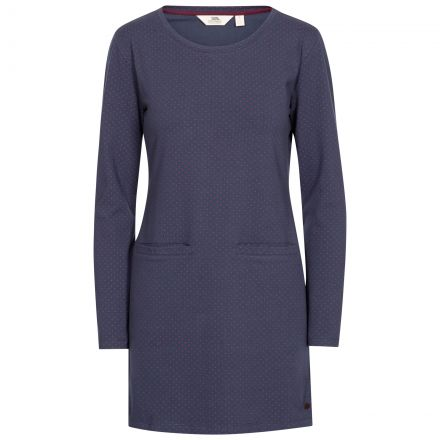 Ronnie Women's Knitted Tunic Dress in Navy