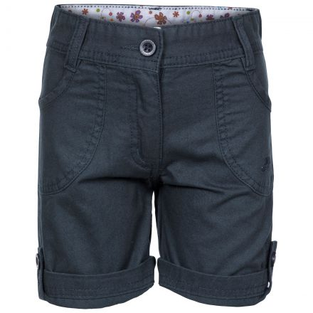 Ronya Kids' Casual Cotton Shorts in Navy