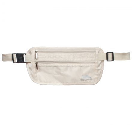 Security Money Belt in White