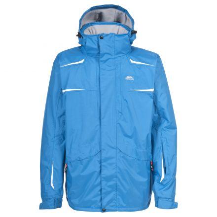 Saltee Men's Ski Jacket - Green in Blue