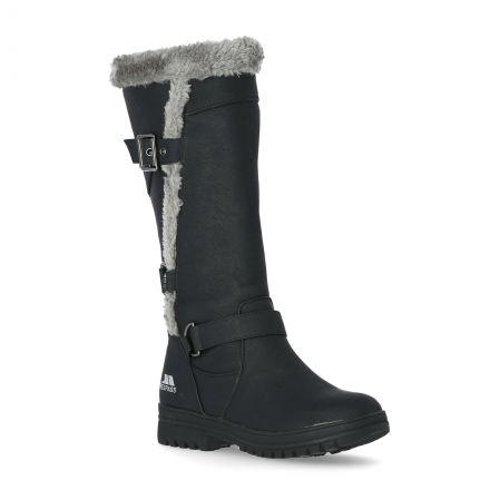 Salvatore Women's Fleece Lined Casual Boots in Black