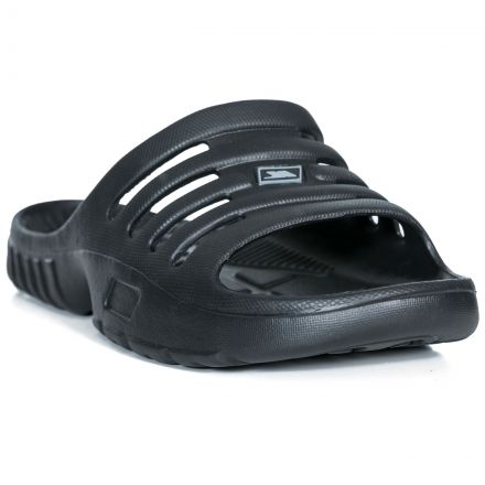 Seeger Men's Supportive Superior Grip Sandals in Black