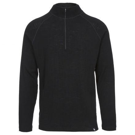 Seeker Men's 1/2 Zip Thermal Top in Black
