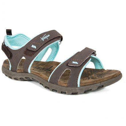 Serac Women's Walking Sandals in Brown