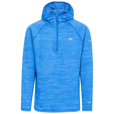 Shale Men's 1/2 Zip Hooded Fleece