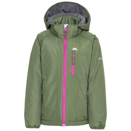 Shasta Girls' Padded Waterproof Jacket in Khaki