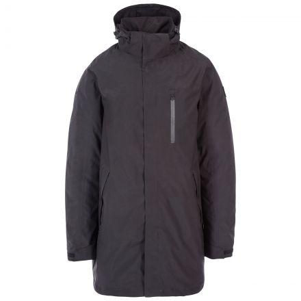 Shoulton Men's Padded Waterproof Jacket in Black