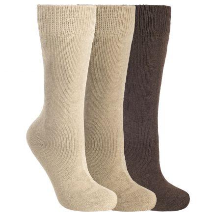 Sliced Men's Casual Socks in Brown