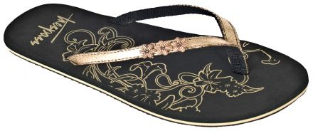 HIDDEN Women's Metallic Flip Flops