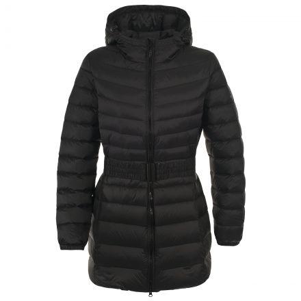 Snowglobe Women's Casual Down Jacket in Black