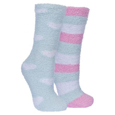 Snuggie Women's Fluffy Slipper Socks