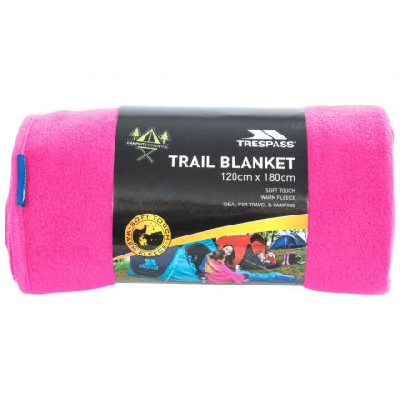 Fleece Blanket 120 x 180cm in Pink