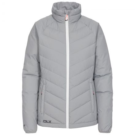 Sondra Women's DLX Down Jacket in Grey