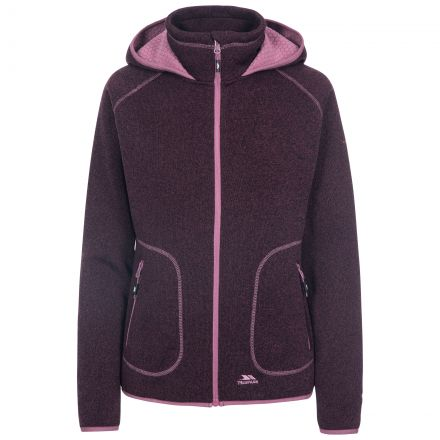 Splendor Women's Hooded Fleece Jacket