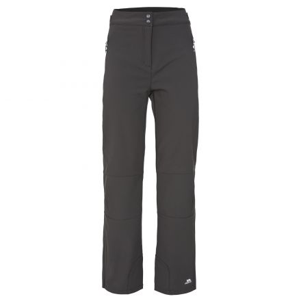 Squidge II Women's Water Resistant Softshell Trousers in Black