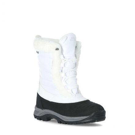 Stalagmite II Women's Fleece Lined Waterproof Snow Boots in White