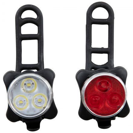 Bike Light Set in Black