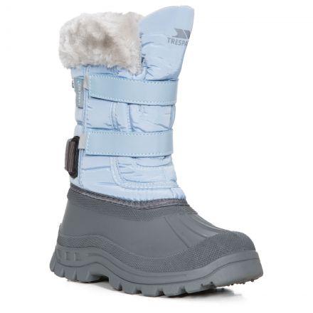Stroma II Girls' Fleece Lined Snow Boots in Light Blue