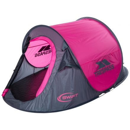 Swift2 Pink Waterproof 2 Man Pop Up Tent