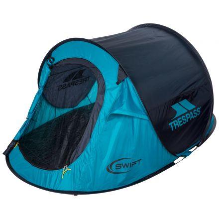 Swift2 Blue Waterproof 2 Man Pop Up Tent