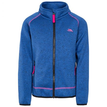 Thankful Kids' Fleece Jacket in Blue