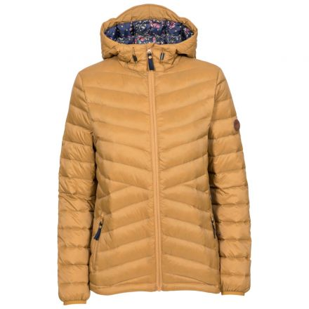 Thora Women's Ultra Lightweight Down Jacket in Sandstone
