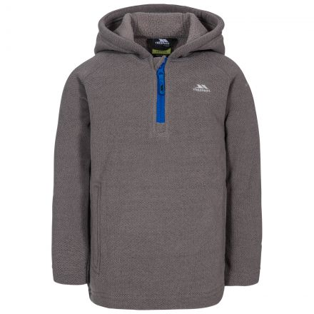 Thunda X Kids' Fleece Hoodie in Grey