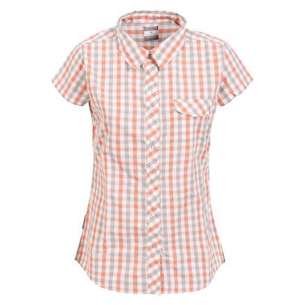 Tilley Women's Short Sleeve Checked Shirt