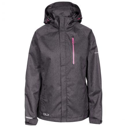 Tiya Women's DLX High Performance Waterproof Jacket in Black