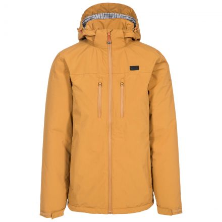Toffit Men's Hooded Waterproof Jacket in Beige